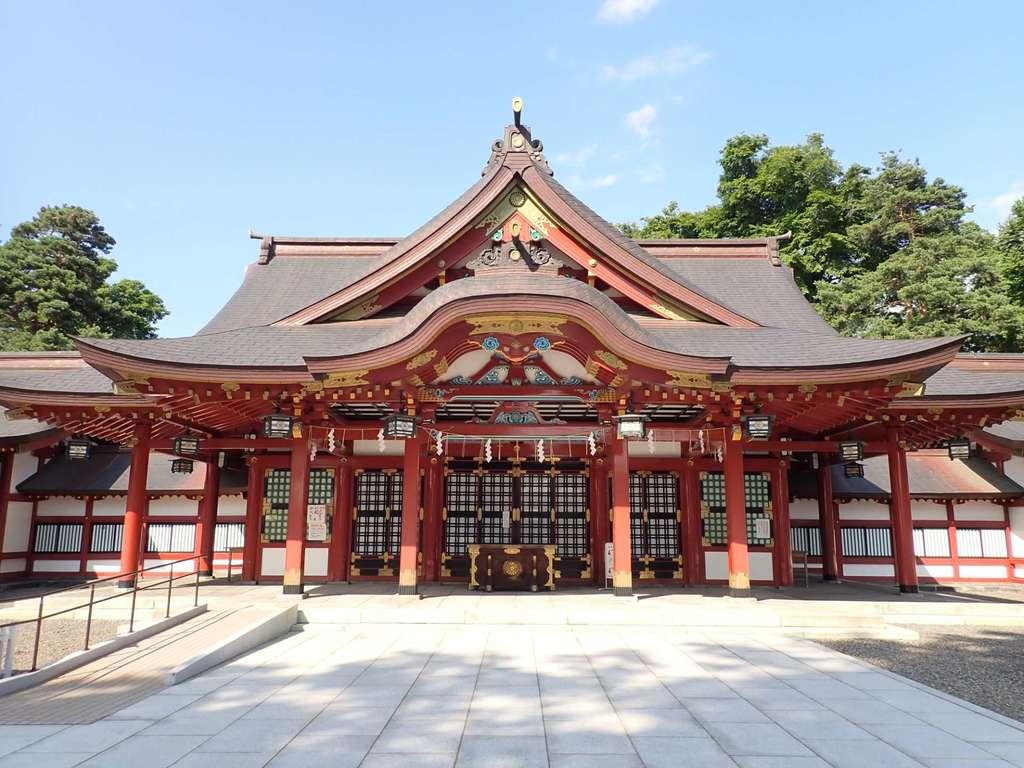 北海道護国神社の本殿