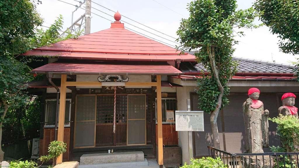 坂下地蔵堂の本殿
