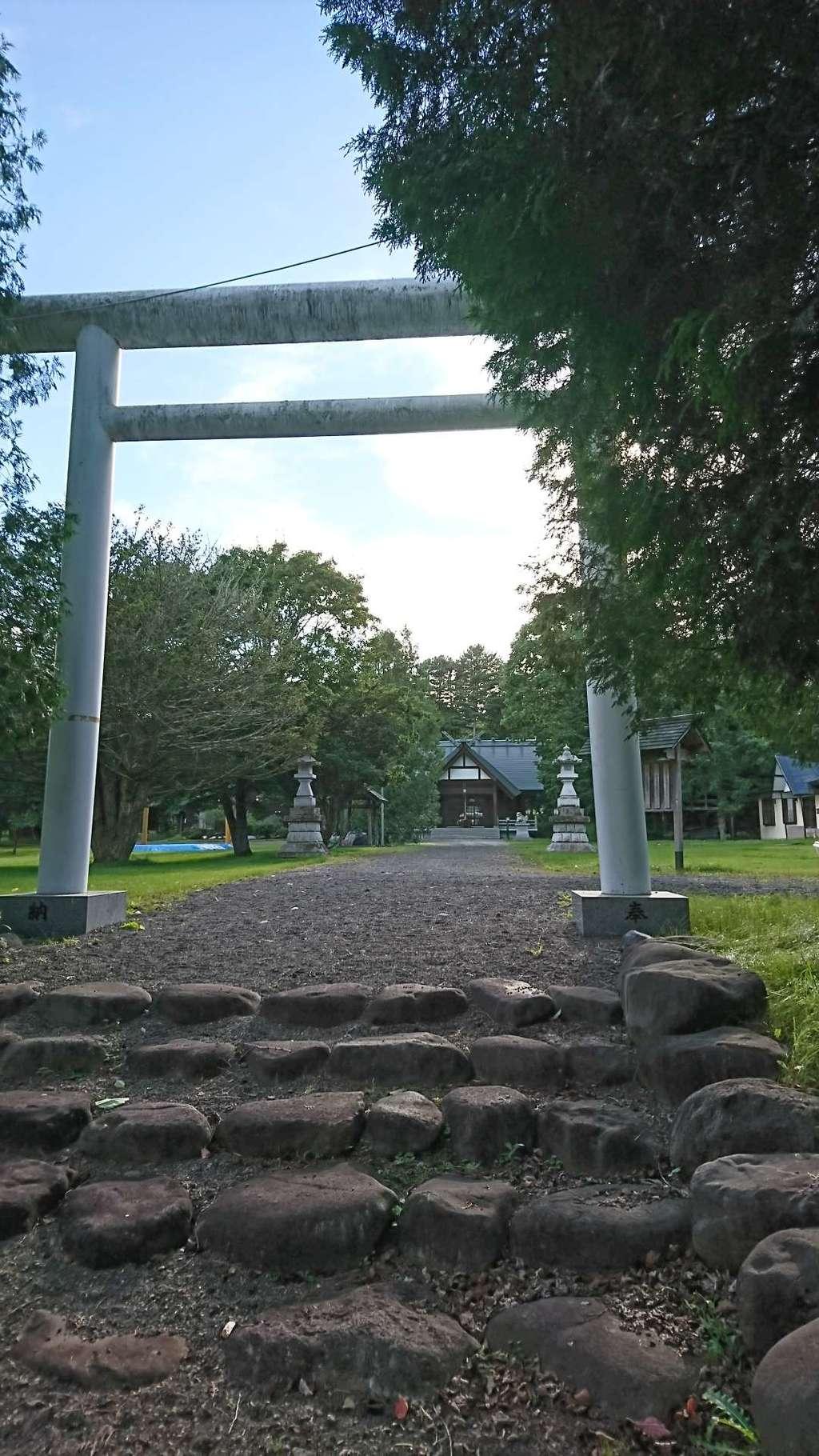 阿寒神社の鳥居