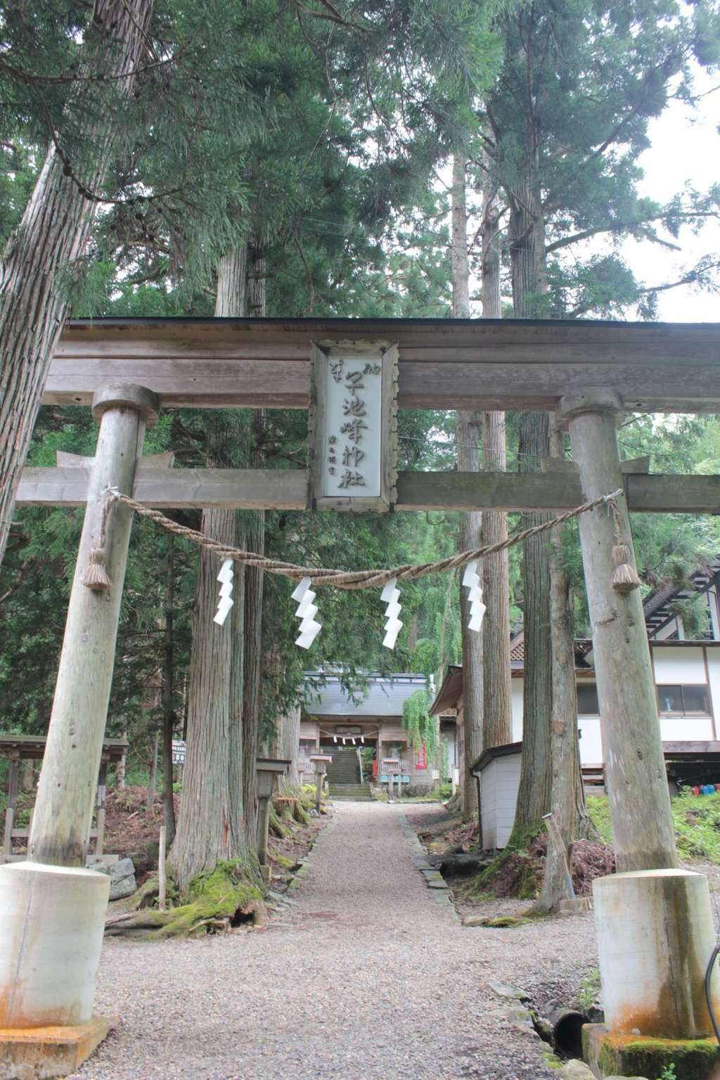 早池峯神社の鳥居