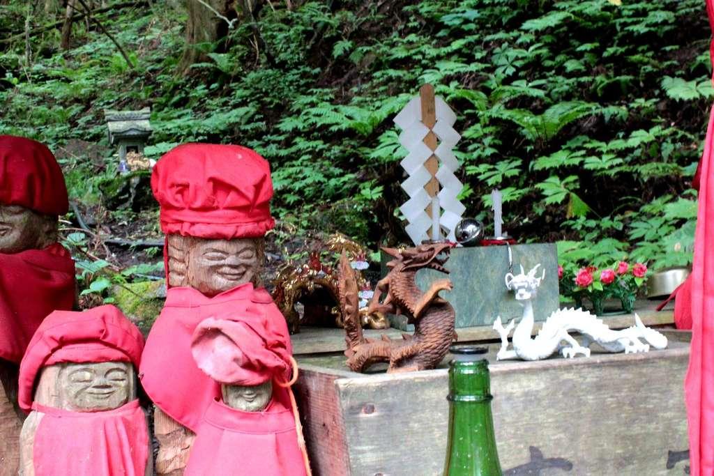 早池峯神社の地蔵