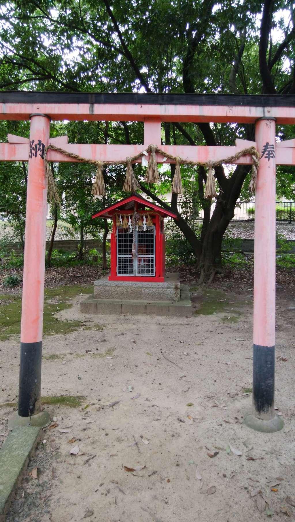 新屋坐天照御魂神社の鳥居