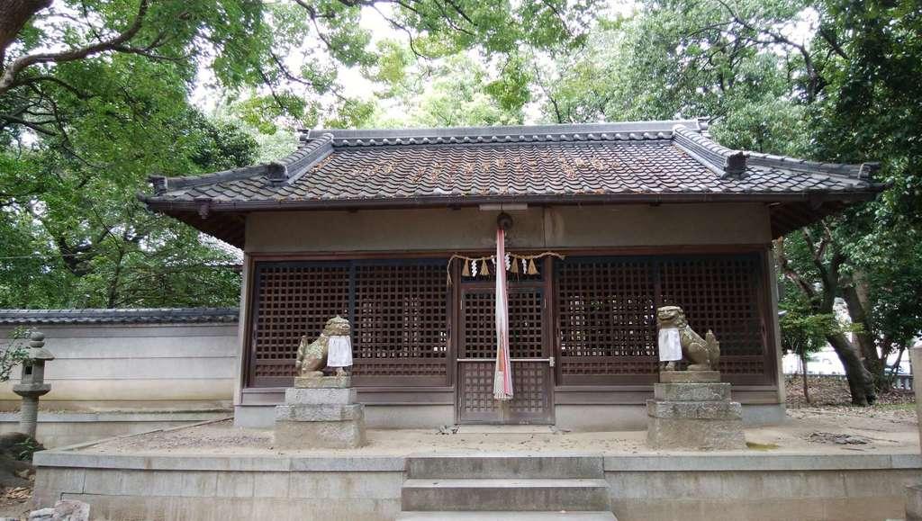 新屋坐天照御魂神社の本殿