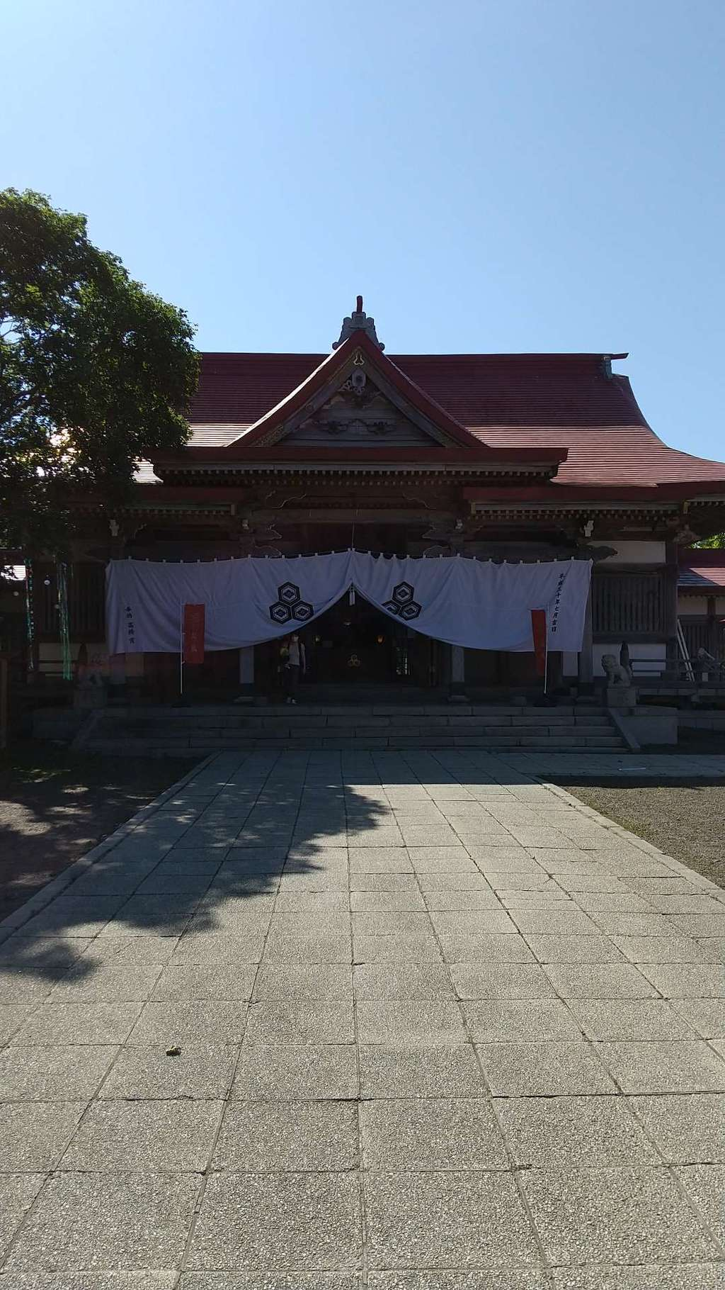 釧路一之宮 厳島神社の本殿
