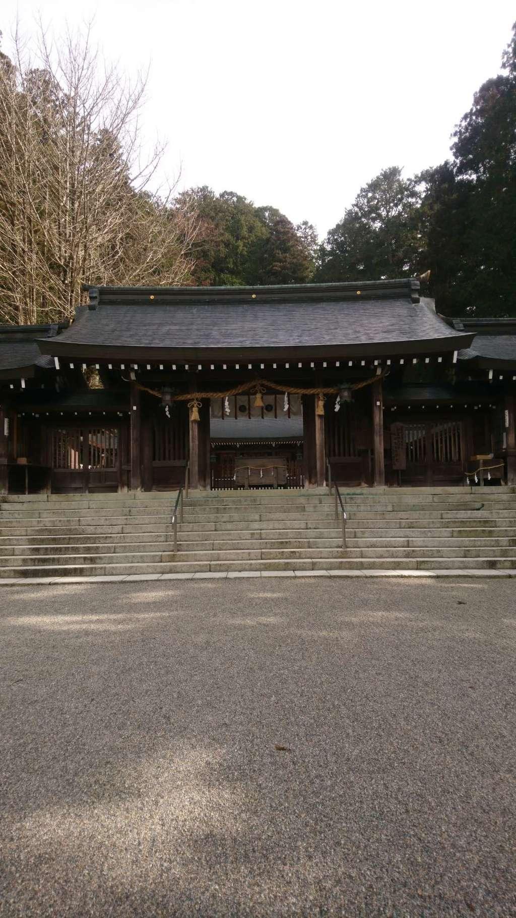 飛騨一宮水無神社の山門