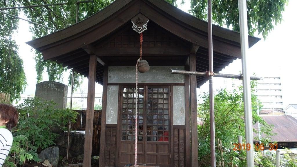 少林寺の地蔵