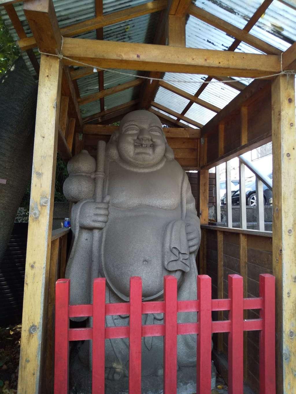 貴船神社の像