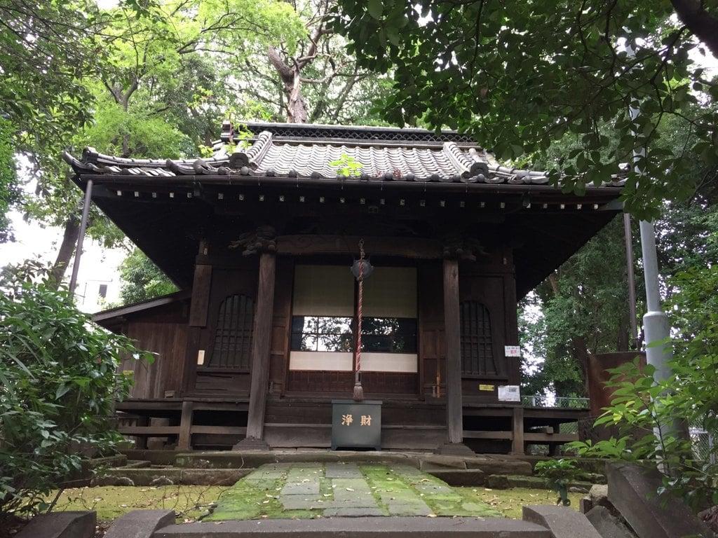 来福寺の本殿