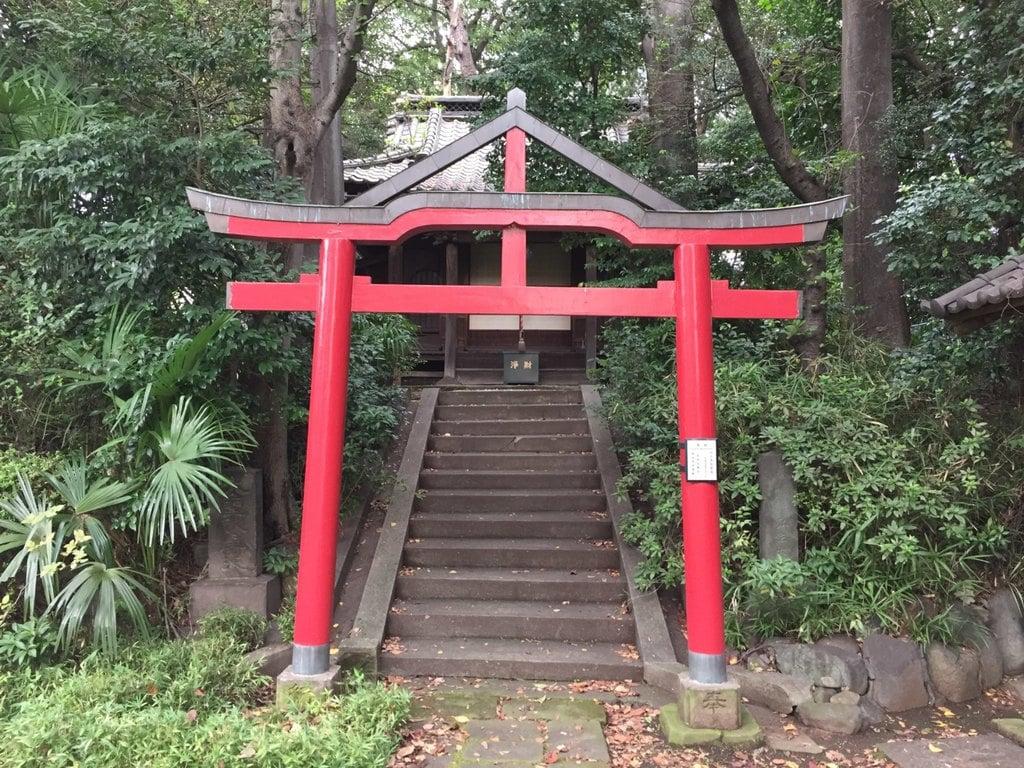 来福寺の鳥居