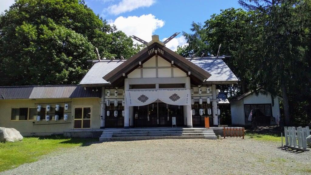 名寄神社の本殿