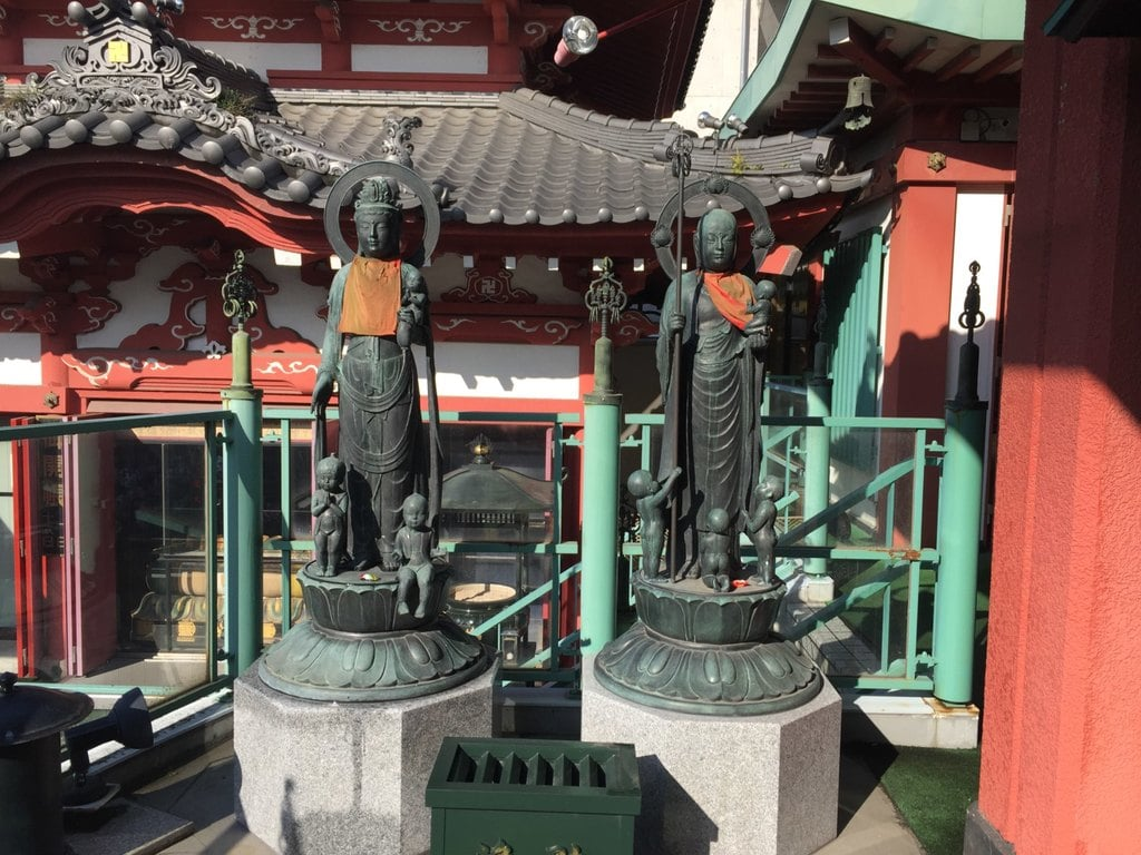 法乗院(深川閻魔堂)の仏像