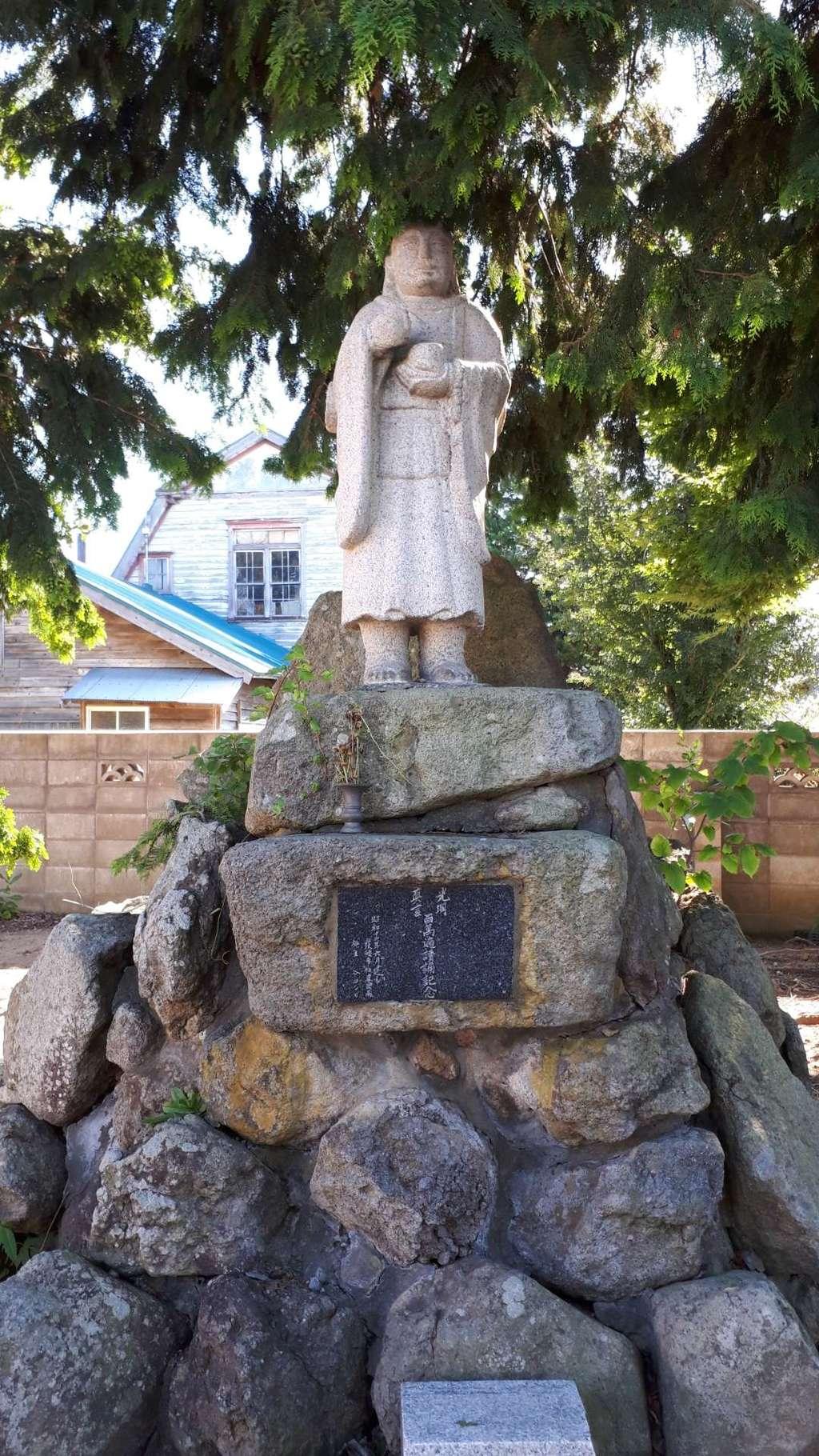 仁玄寺の像