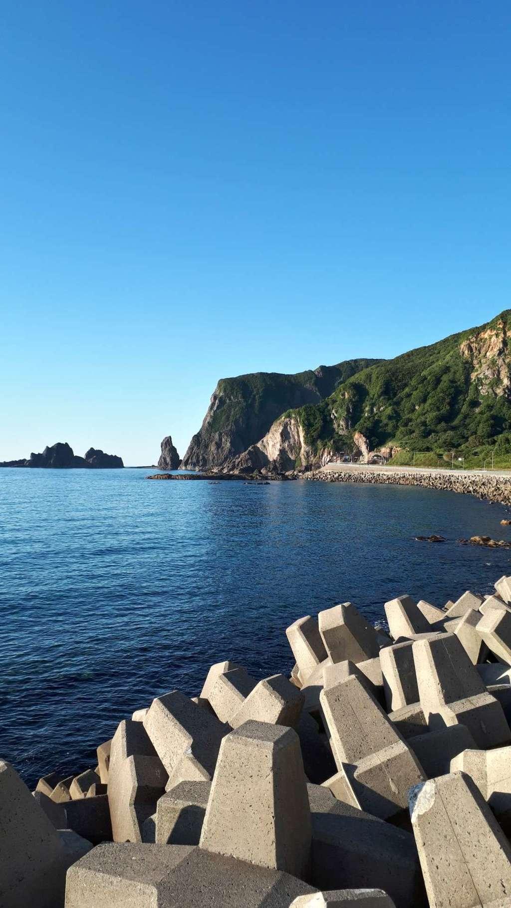 神恵内嚴島神社の景色