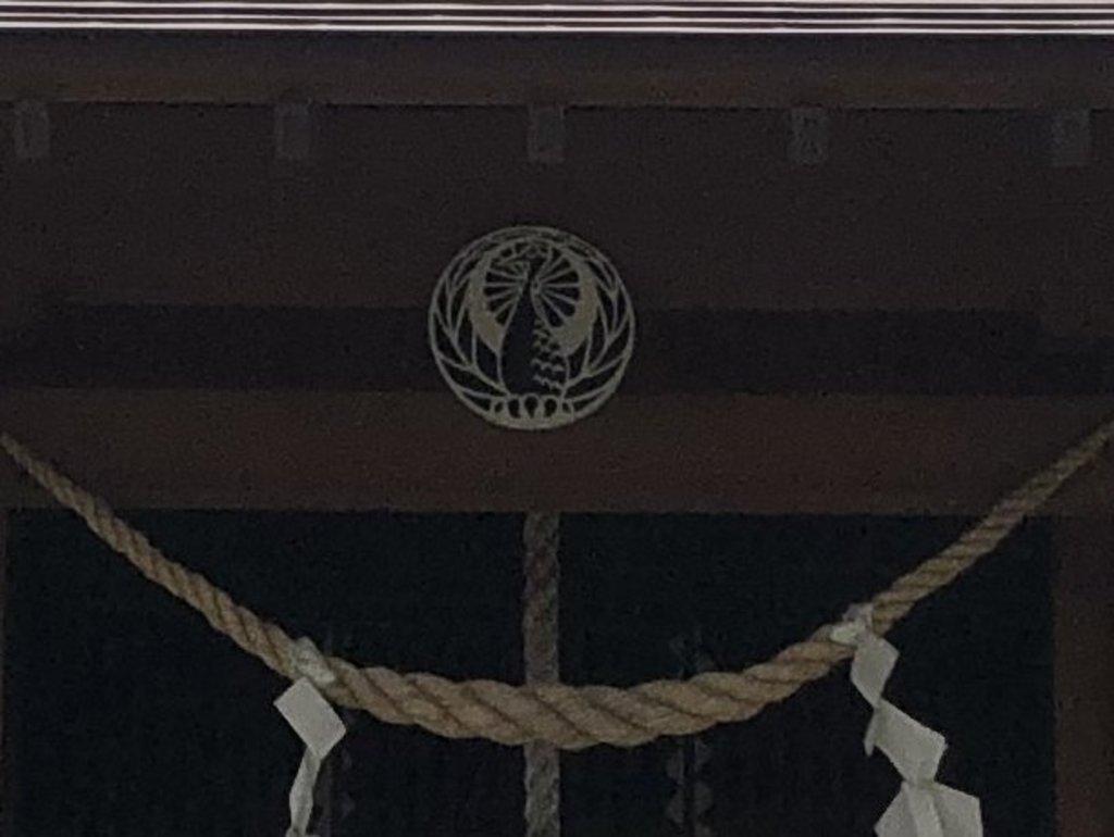 神子畢神社の本殿