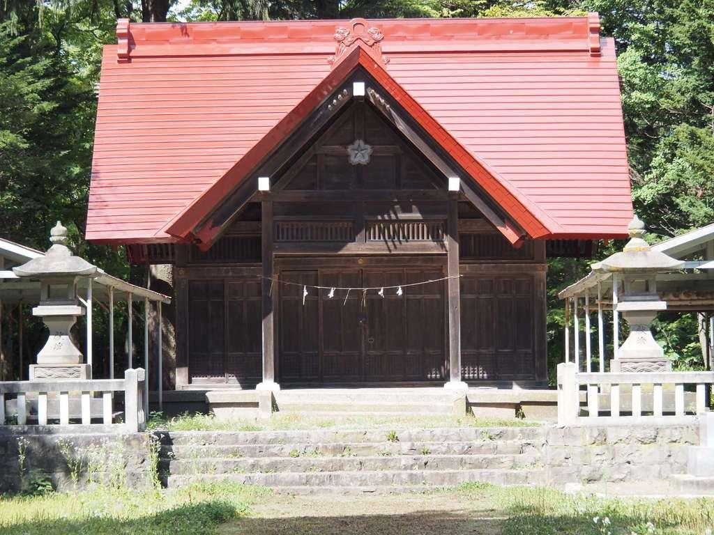 網走護国神社の本殿