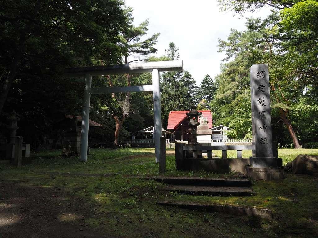 網走護国神社の鳥居