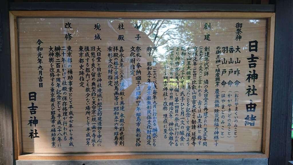 日吉神社の歴史