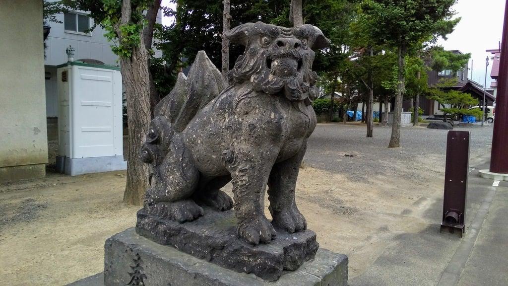 苗穂神社の狛犬