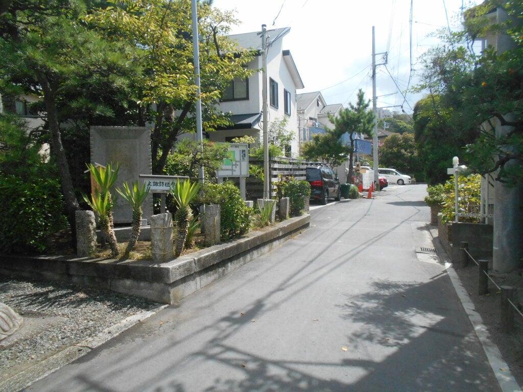 片瀬諏訪神社の周辺