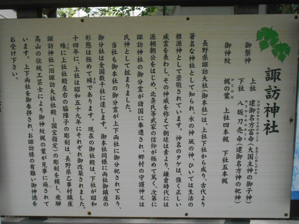 片瀬諏訪神社の歴史