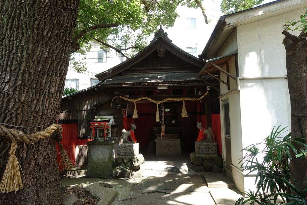 末廣稲荷神社の本殿