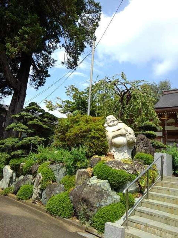 長福寺の像