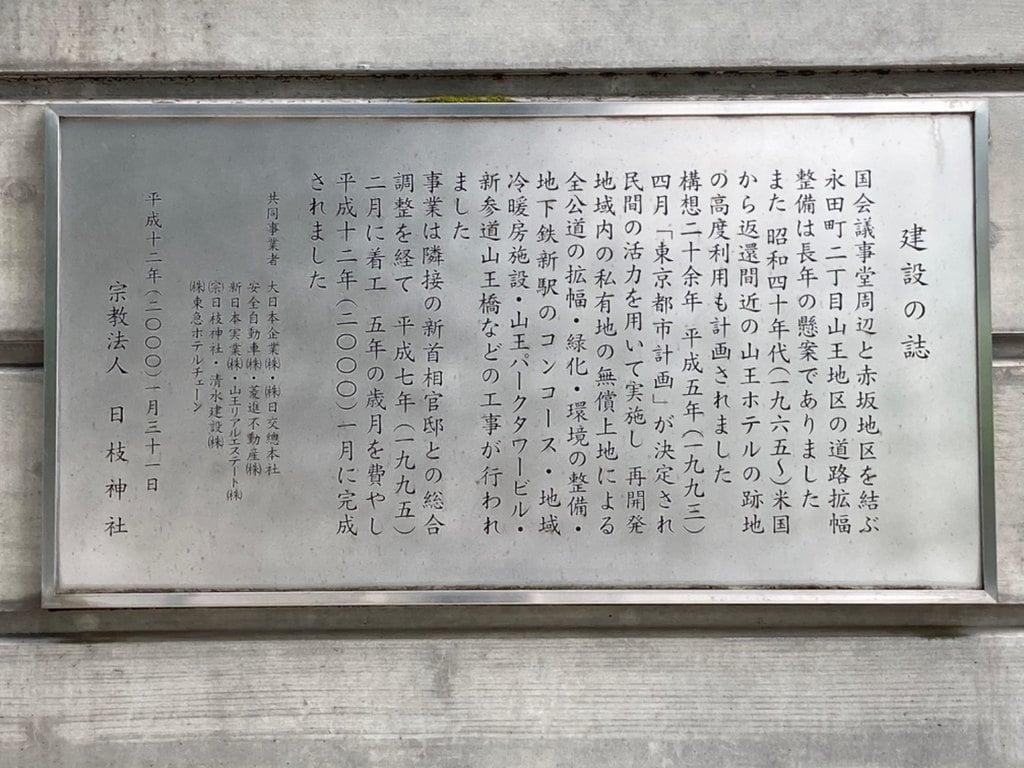 日枝神社の歴史