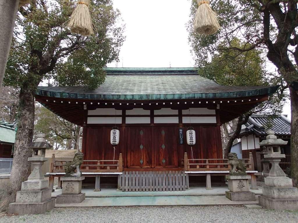 赤留比売命神社(杭全神社飛地境内社)の本殿