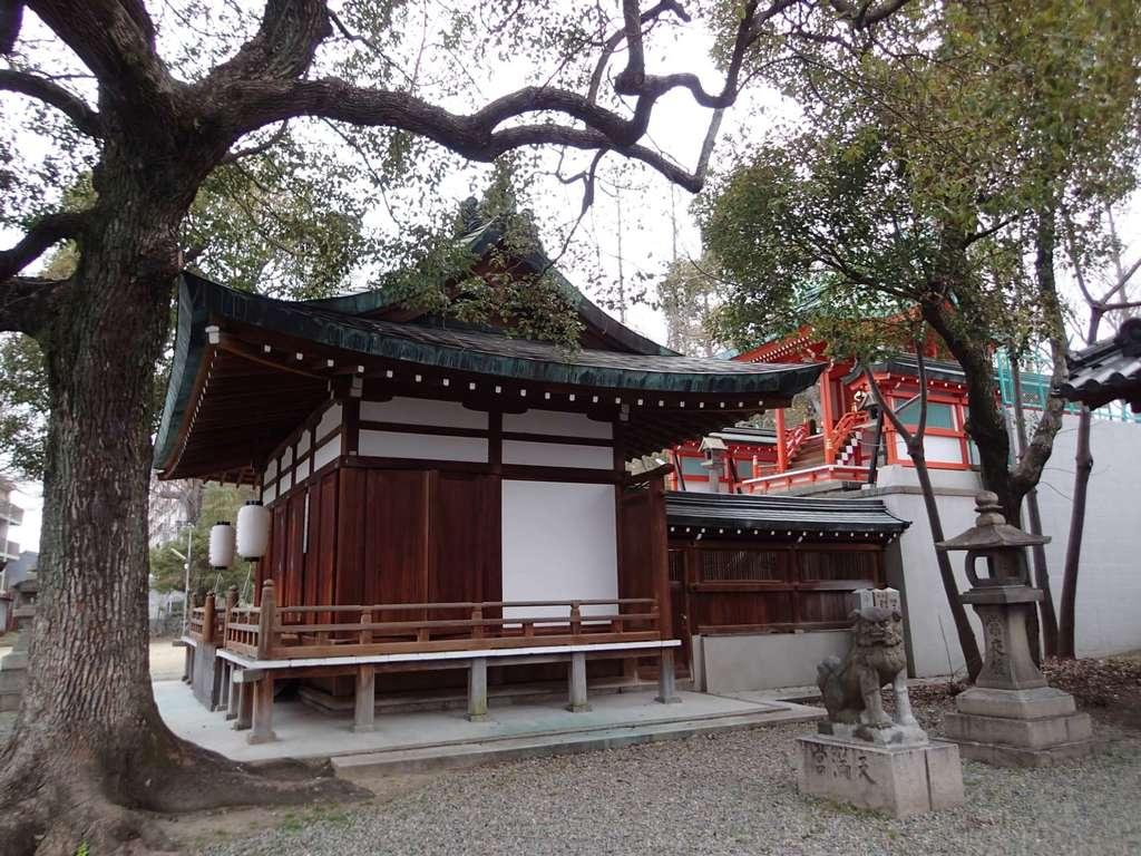 赤留比売命神社(杭全神社飛地境内社)の建物その他