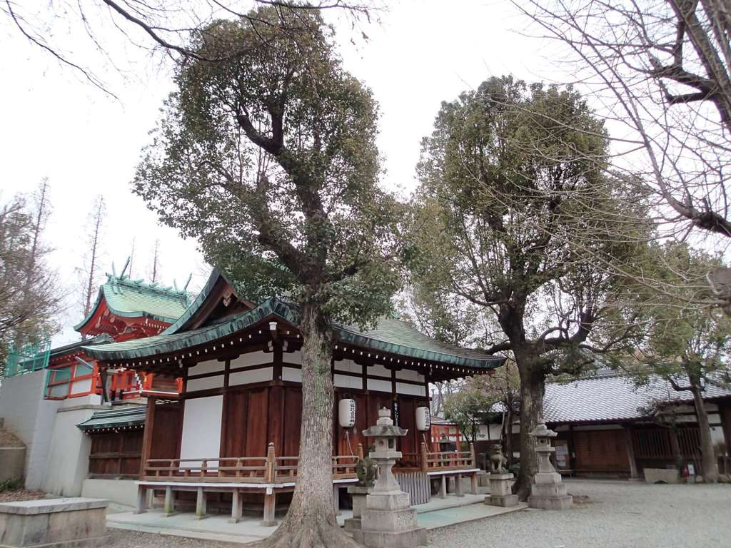 赤留比売命神社(杭全神社飛地境内社)の神楽