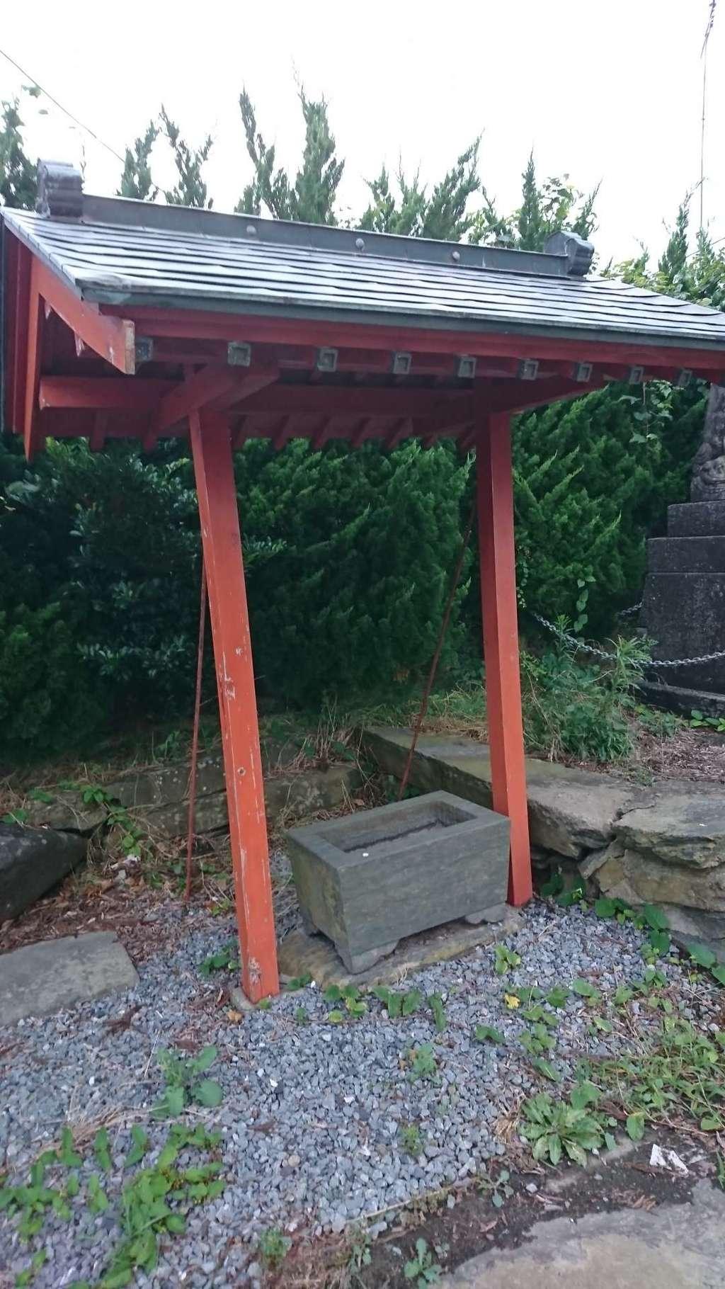 秋葉神社の手水