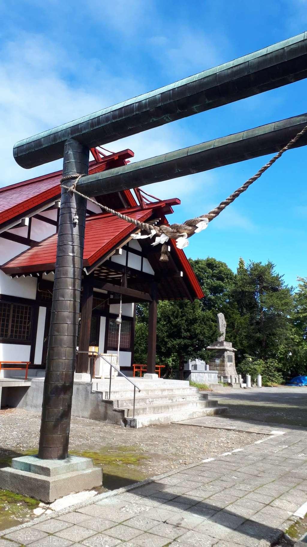 江部乙神社の鳥居