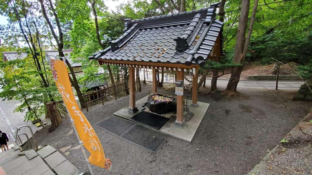 千歳神社の手水