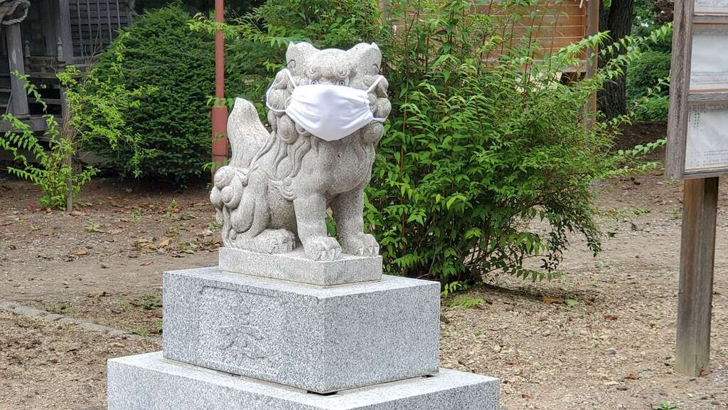 別海神社の狛犬