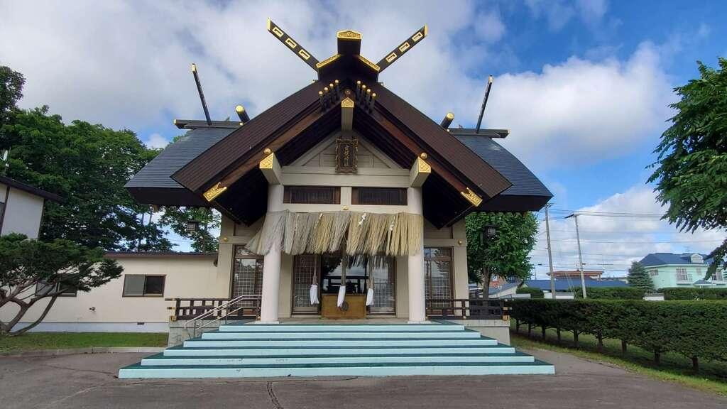 士幌神社の本殿