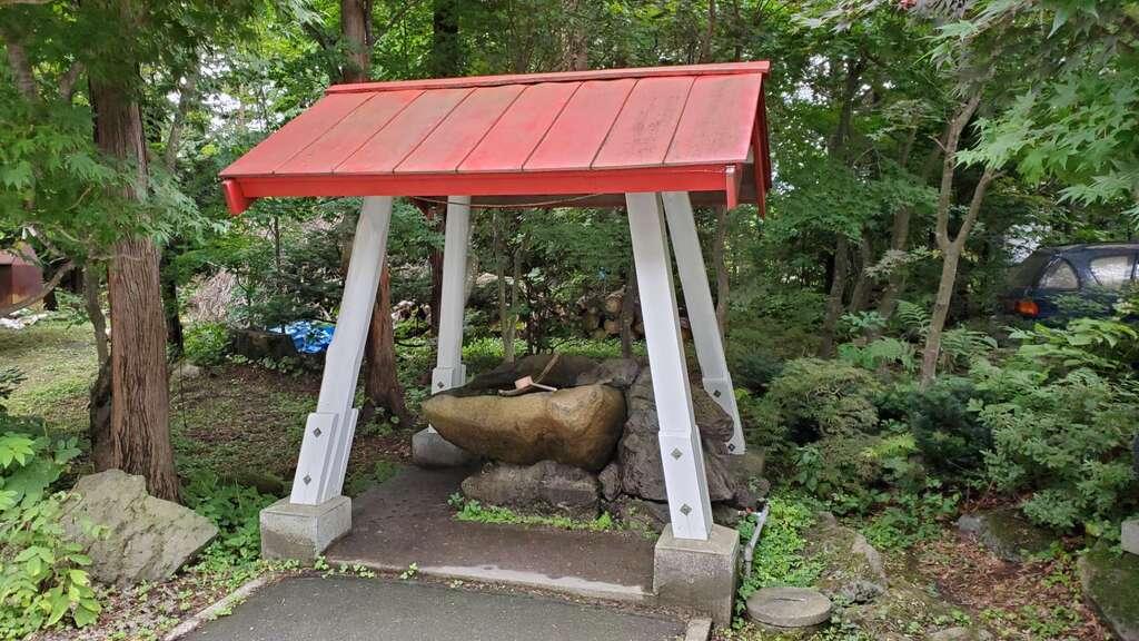 南豪神社の手水