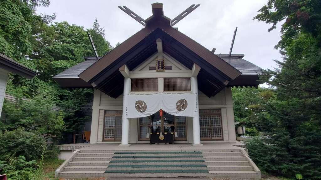 南豪神社の本殿