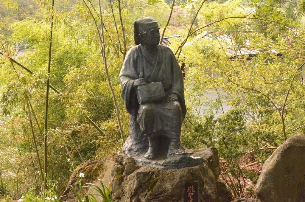 宝珠山 立石寺の像
