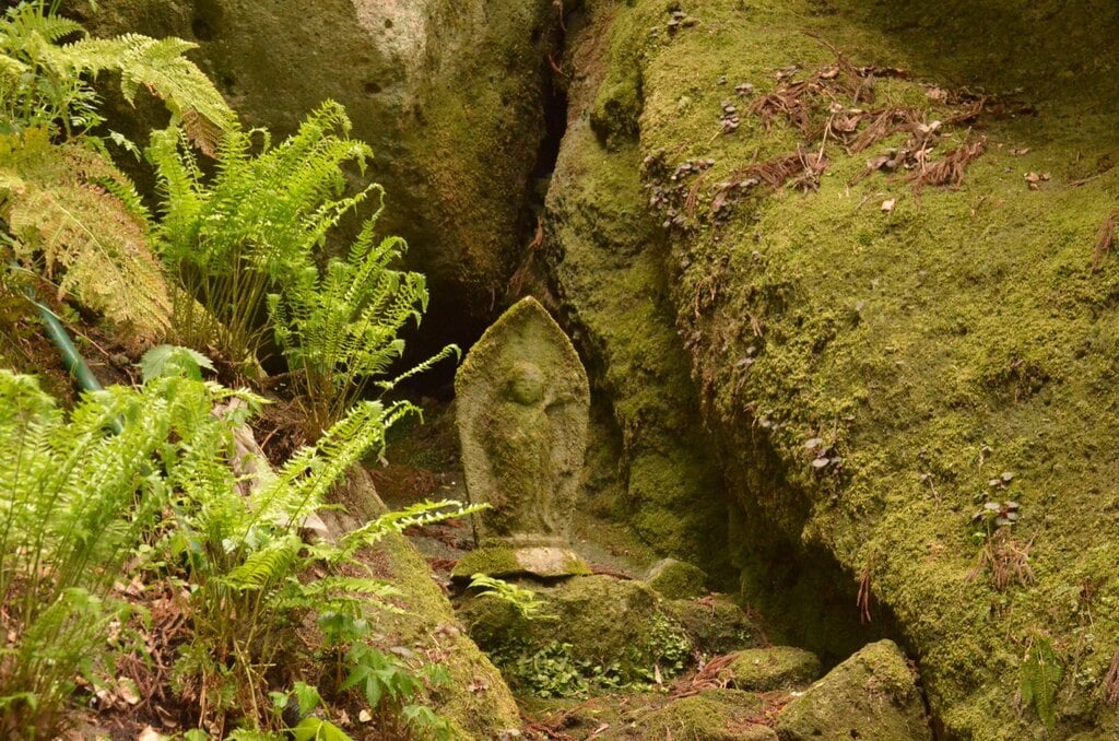 宝珠山 立石寺の地蔵