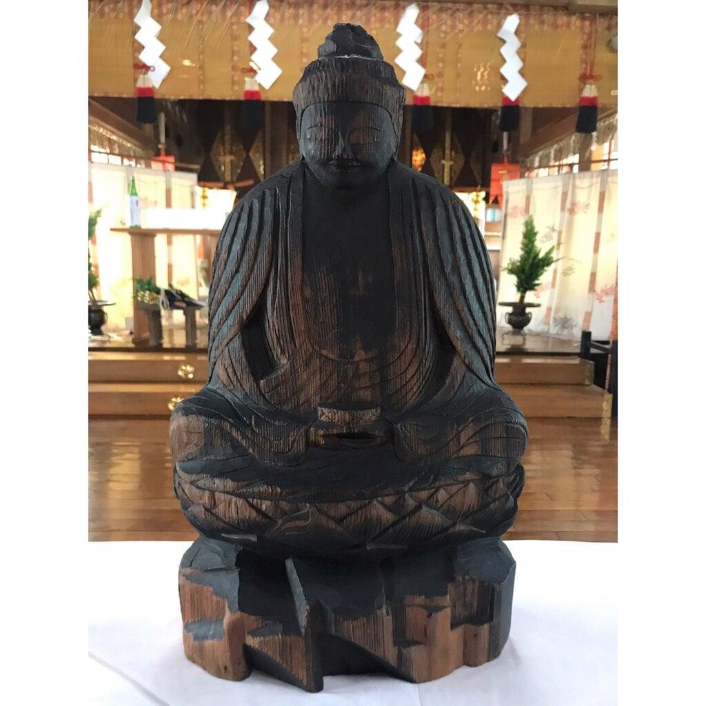 釧路一之宮 厳島神社の像