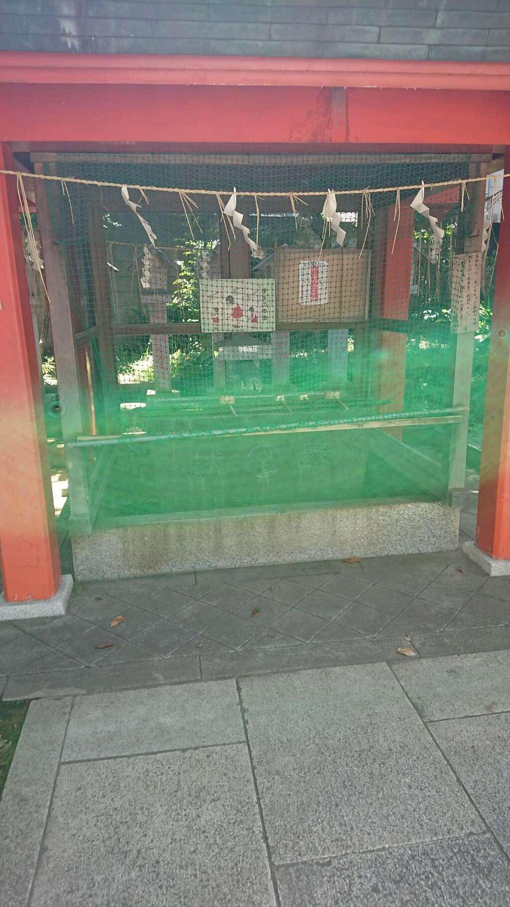 導きの社 熊野町熊野神社の手水