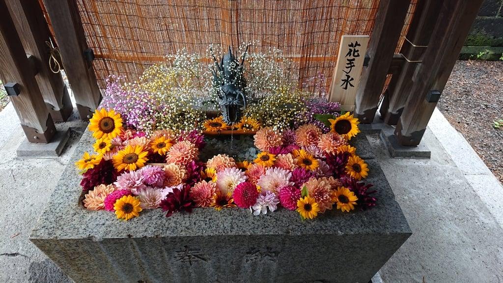 札幌諏訪神社の手水