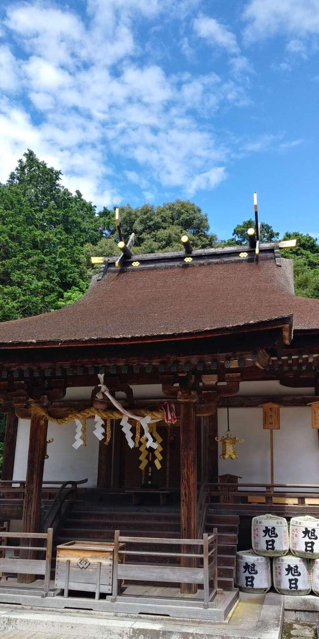 御上神社の本殿