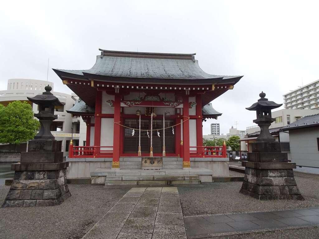 小松川神社の本殿
