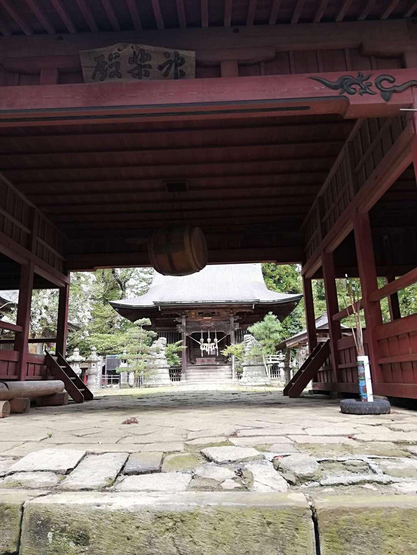 田村神社の本殿