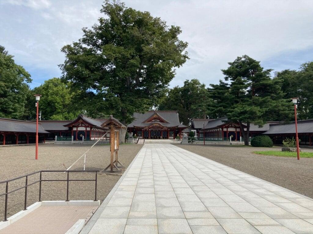 北海道護国神社の建物その他