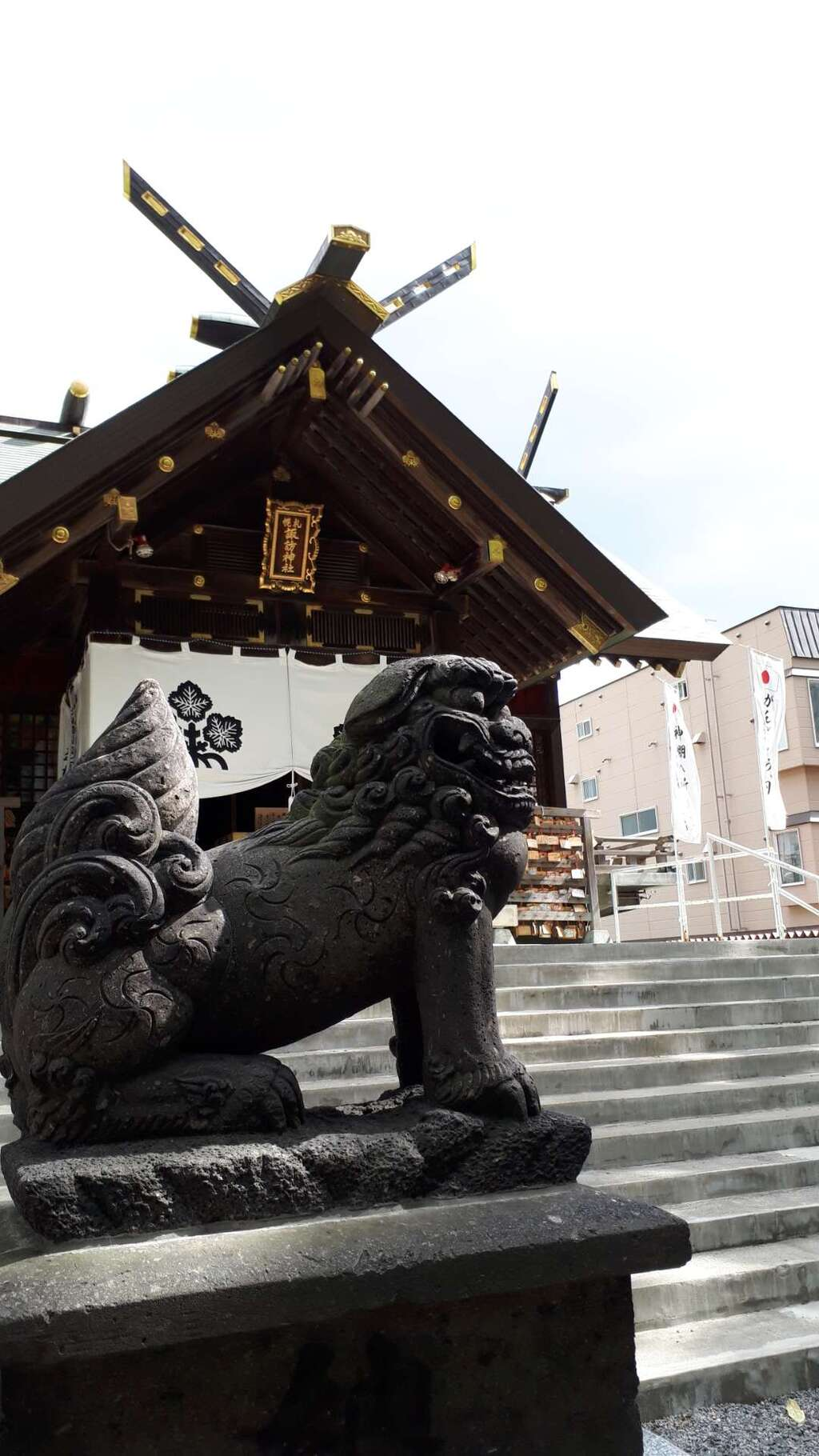 札幌諏訪神社の狛犬