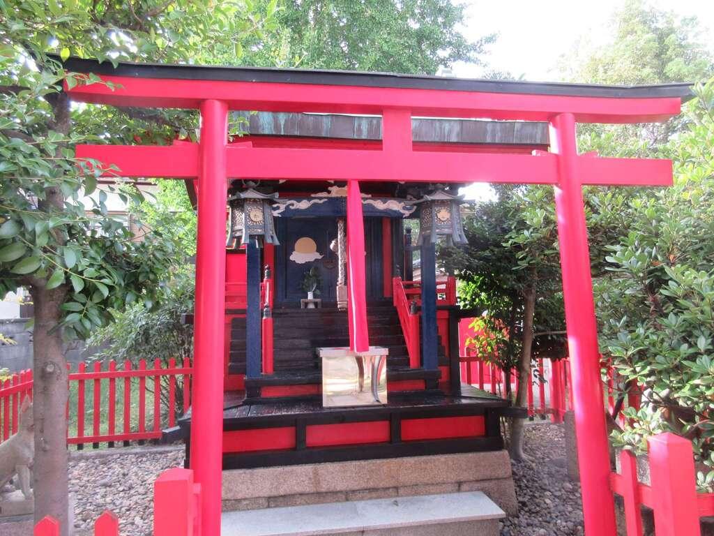 三の丸神社の鳥居