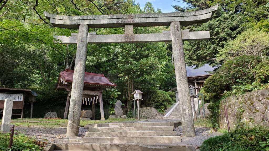 上山八幡宮の鳥居
