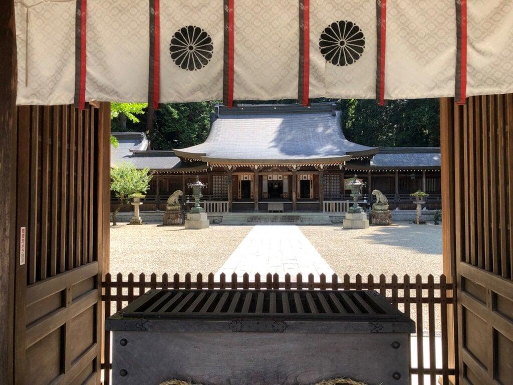 飛騨一宮水無神社の本殿
